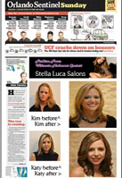 Orlando Sentinel Makeovers Salon