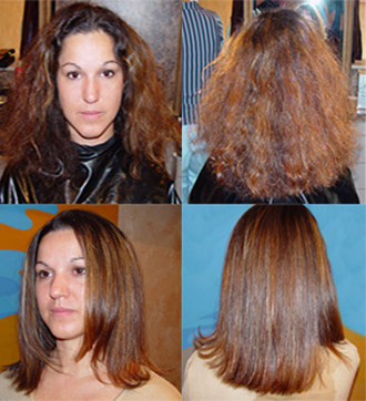 liscio hair straightening instructions
