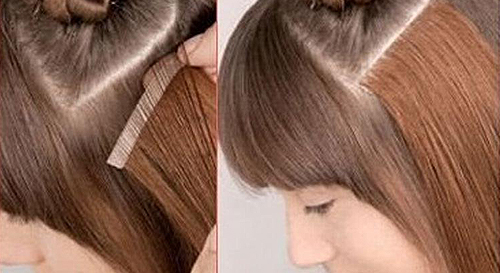 Tape-In Hair Extensions Orlando