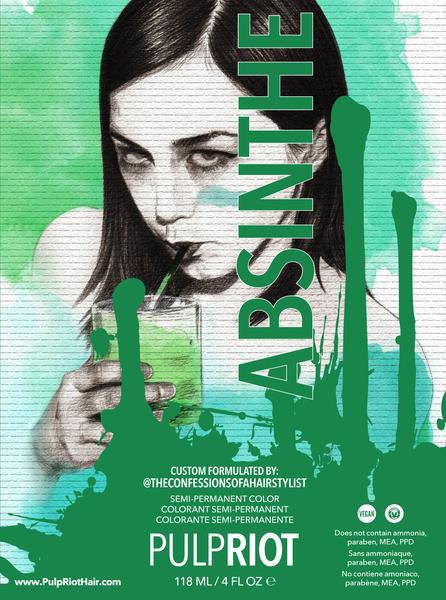 Orlando's 1st Pulp Riot Salon - Absinthe