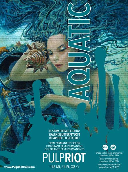 Orlando's 1st Pulp Riot Salon - Aquatic