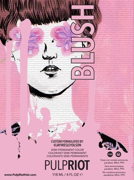 Orlando's 1st Pulp Riot Salon - Blush