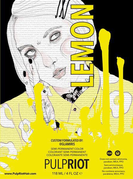 Orlando's 1st Pulp Riot Salon - Lemon
