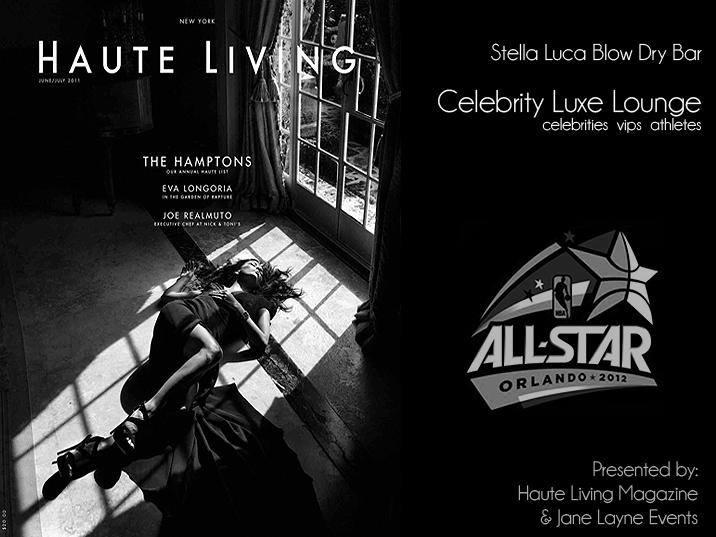 Nba All Star Haute Living Magazine Stella Luca Celebrity