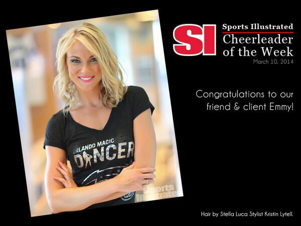 Hair by Stella Luca Salon Orlando Sports Illustrated