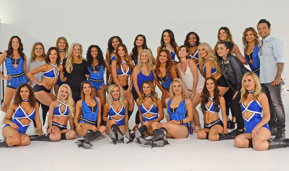 Orlando Magic Dancers Salon