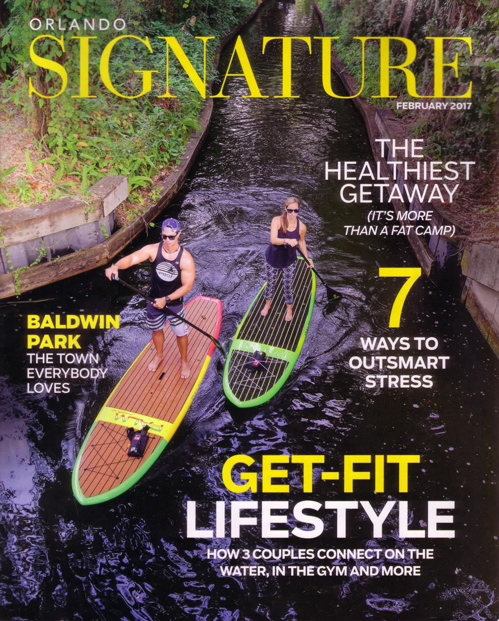 Stella Luca Stylist Jesse Yeager in Orlando Signature Magazine